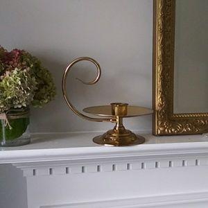 COPY - Baldwin brass chamberstick gold candle vin…
